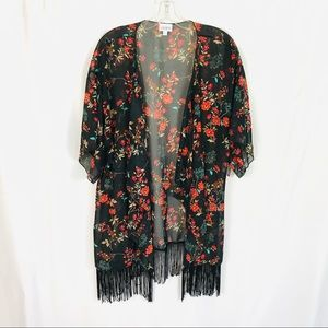 Lularoe Monroe kimono duster tunic cardigan